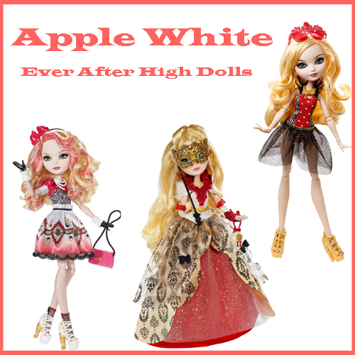 Ever After High Dolls - Apple White Dolls
