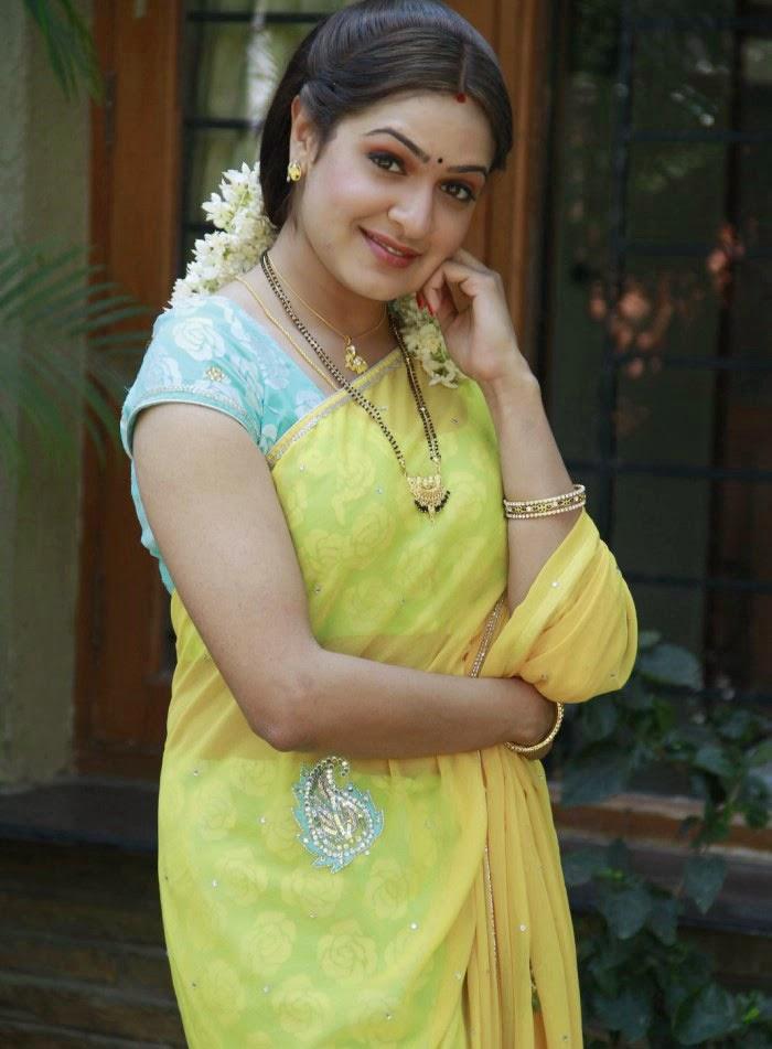 Aditi Agarwal Hot Photos In Yellow Saree