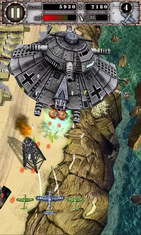 Rasakan Game Pesawat Air Attack HD ModApk - SegalaReview ...