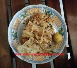 Warung Nasi pecel enak murah di kepanjen