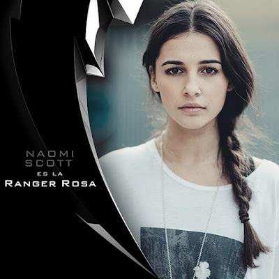 El Power Ranger Rosa