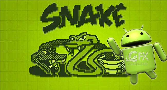 Androidde Klasik Snake Oyunu Nasıl Oynanır