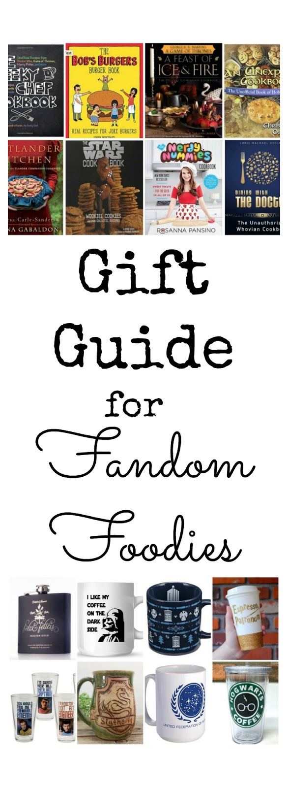 Gift Guide for Fandom Foodies