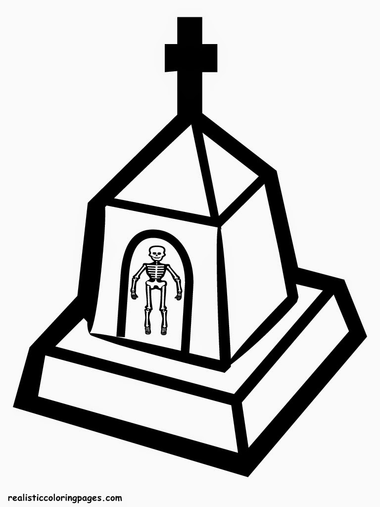 halloween church printable coloring sheet
