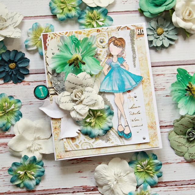Prima in Michaels Stores – a card
