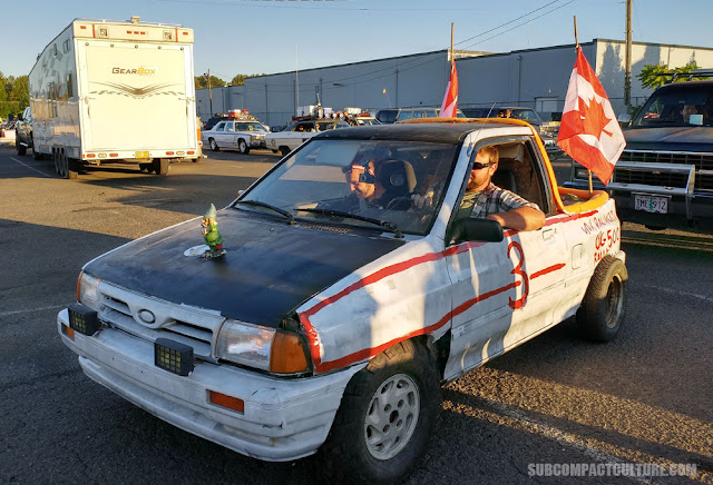 Canadian Ford Festiva