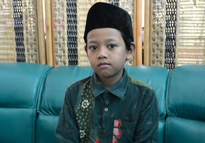 Hafidz Qur'an, Anak Ini Dengan Polosnya Bilang, Saya Ingin Jadi Kyai, Sebab Kyai Itu Pintar, Ilmunya Banyak