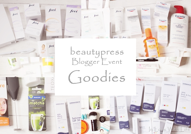 beautypress Blogger Event Goodies