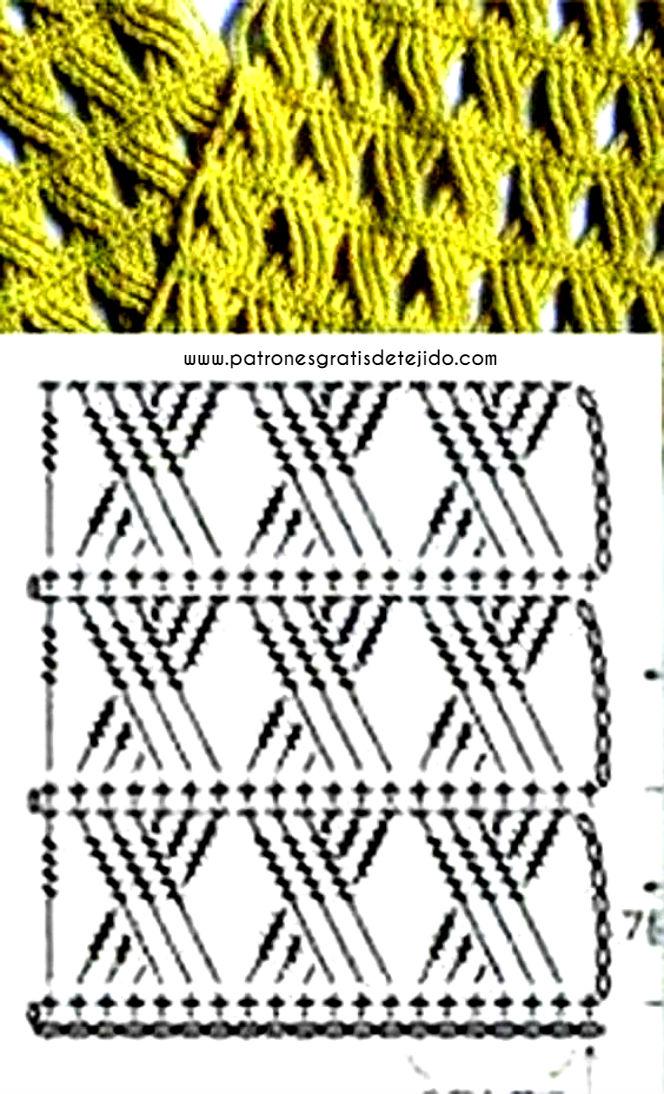 Patrones y Paso a paso de Gorro de estilo Boina y Bufanda a Crochet ...