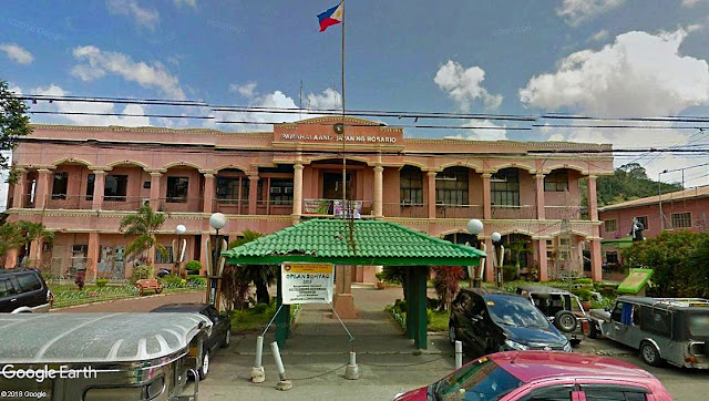 The Municipal Hall of Rosario, Batangas.  Image source;  Google Earth Street View.