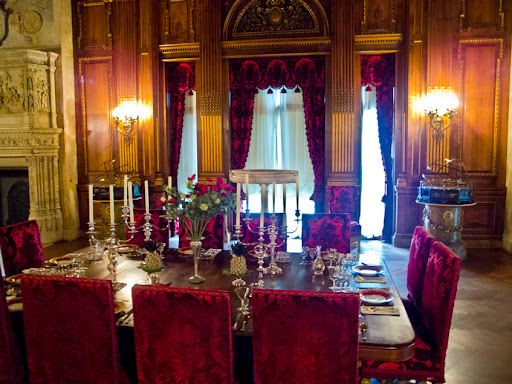 Dining Room - Vanderbilt Home - Hyde Park NY