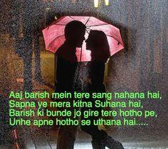 Top 5 Status on Badal - Barish Rainy Status in Hindi