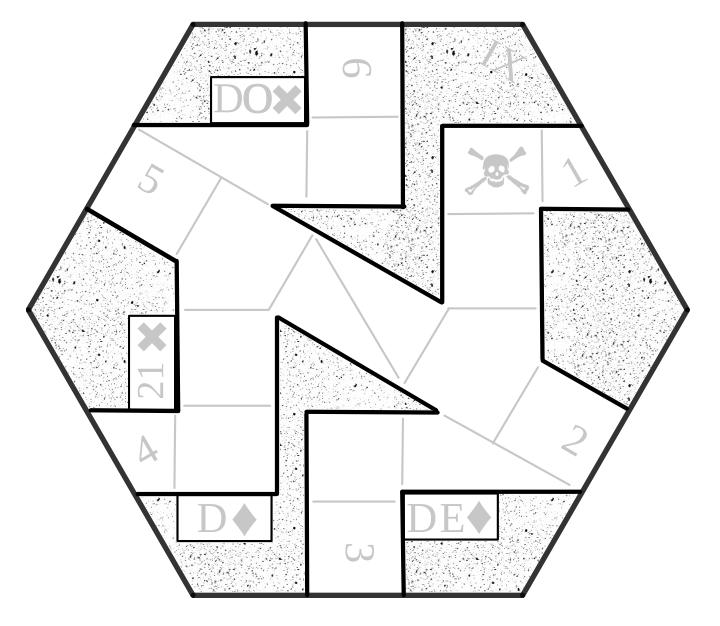 Hexagonal Tile Kitchen Backsplash