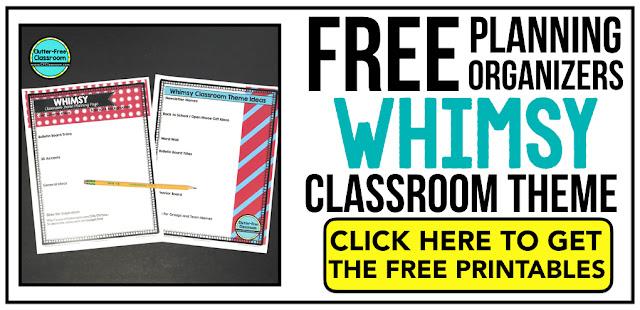 Dr Seuss Theme Classroom Clutter-Free Classroom