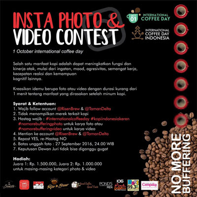Insta Photo & Video Contest International Coffee Day