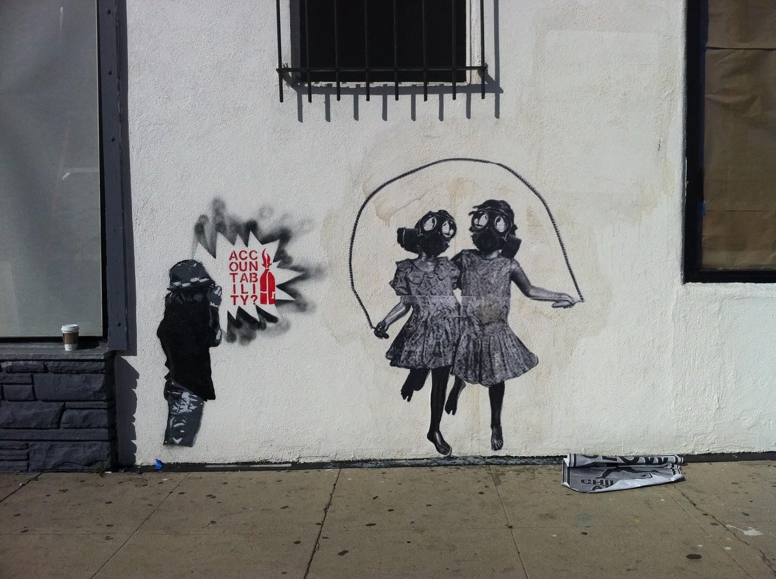 banksy graffiti political - photo #3