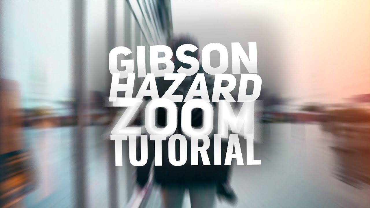 Gibson Hazard ZOOM Effect - Blog Photography Tips - ISO 1200