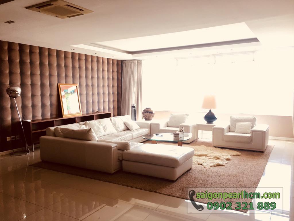 Cho thuê Saigon Pearl căn hộ 4 phòng ngủ 206m2 Ruby 1 view sông Sài Gòn - hình 7