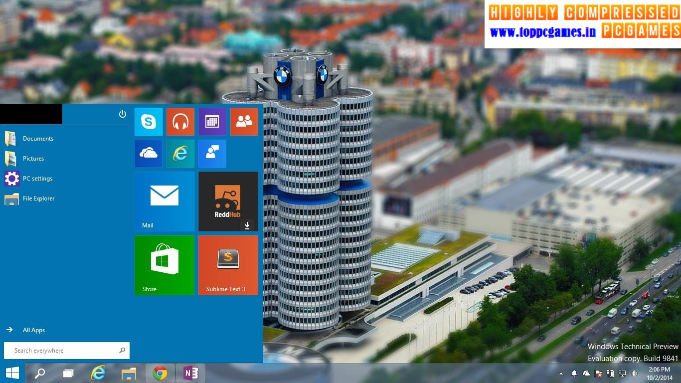 Windows 10 Super Compressed Only 10mb Iso File