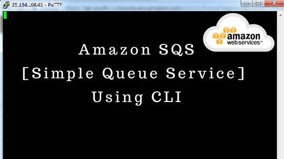 How To Configure SQS Using AWS CLI
