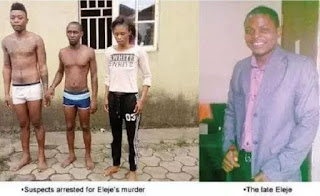 Killers of Jumia Delivery man in Port Harcourt