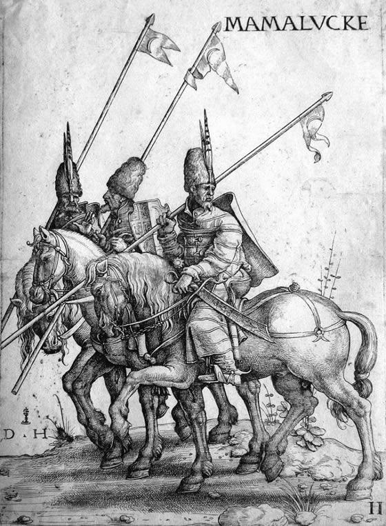 Mamluk lancers