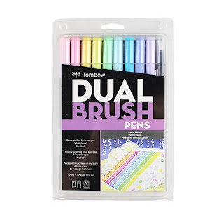 Tombow Dual Brush Markers, Pastel