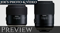 Tamron 85 f/1.8 VC & 90 f/2.8 Macro Lenses Announced | Preview