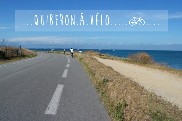 bretagne morbihan quiberon vélo