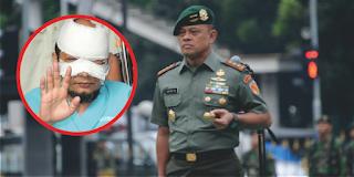 Buntut dari teror terhadap Novel Baswedan Panglima TNI berjanji akan berikan prajurit terbaik Untuk kawal penyidik KPK