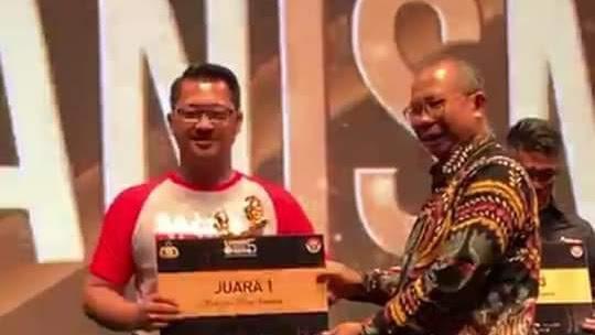 Humanis Mengantar Polres Bitung Raih Juara Pertama di PMF Jakarta.
