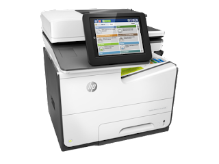 Download HP PageWide MFP 586 series drivers