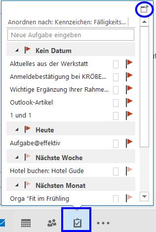 Outlook Aufgabenliste Bitte Nicht Die Aufgaben Des Ganzen