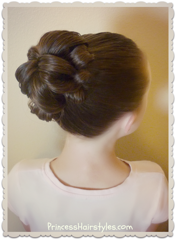 Topsy Tail Bun Tutorial Hairstyles For Girls Princess