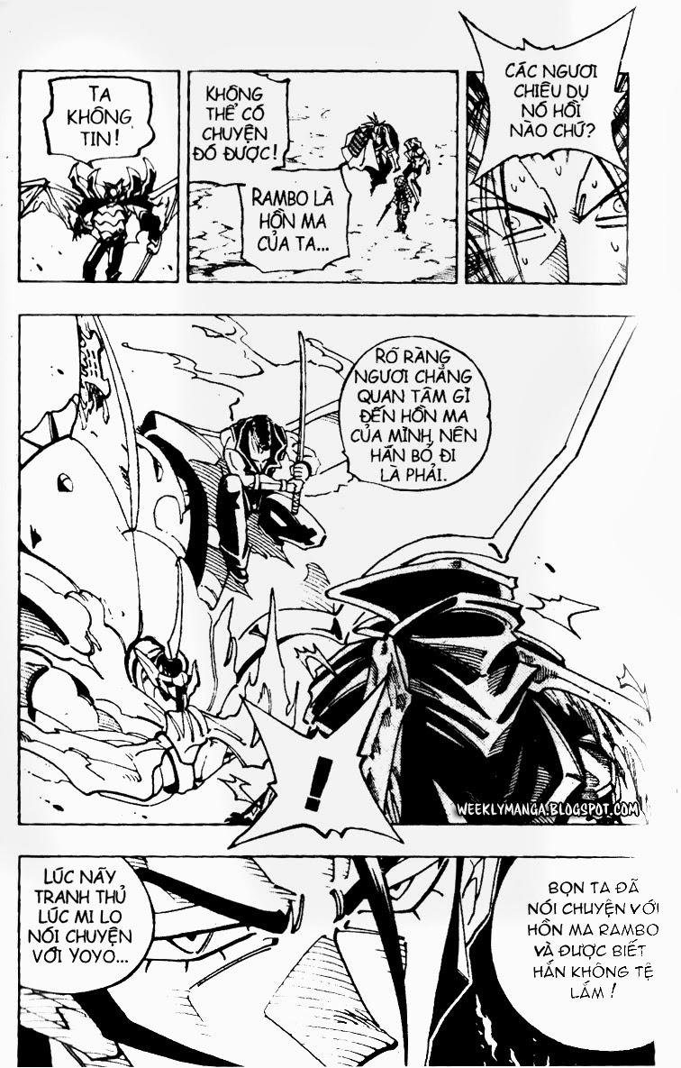 Shaman King [Vua pháp thuật] chap 100 trang 19