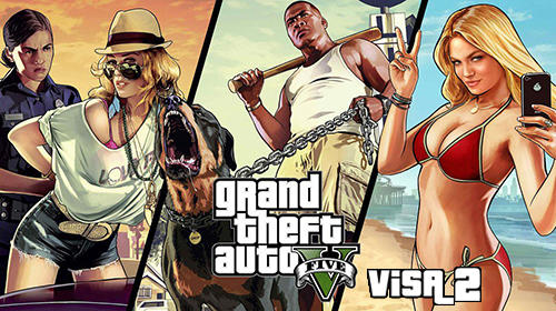 Download Grand Theft Auto 5 Visa 2 APK Mod Data for Android