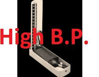 an image showing high BP machine