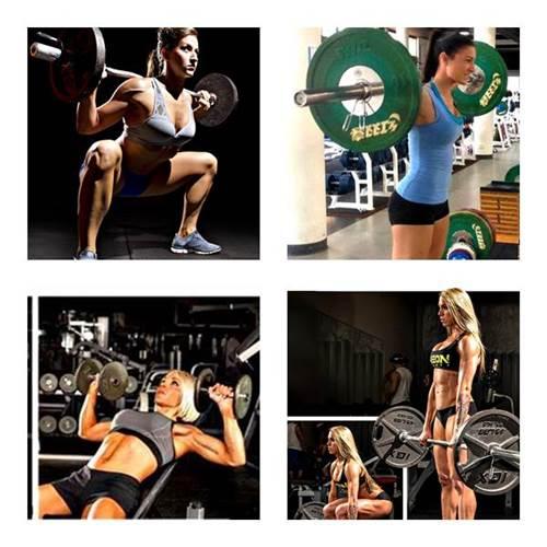 Rutina de ejercicios mujeres para ganar masa muscular, fuerza y resistencia