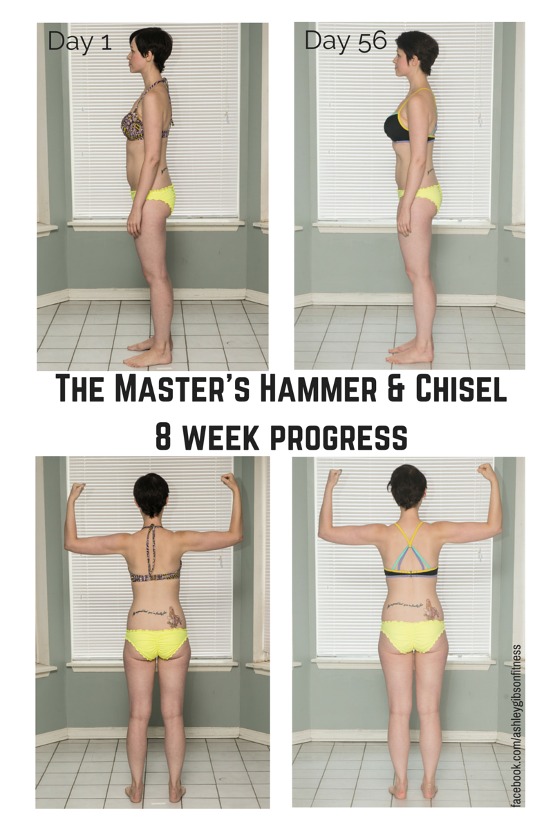 Ashley Gibson Master's Hammer and Chisel transformation
