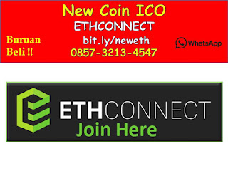 0857-3213-4547 New Coin Baru ICO ETHCONNECT Indonesia