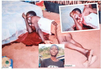 Man kills elder brother for not giving him pocket money (graphic photo)