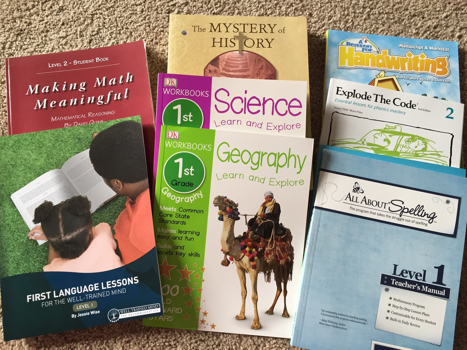 Little Johnson Heartbeat Homeschool Curriculum Picks