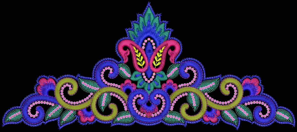 Embdesigntube Woven Thread Lace Borders