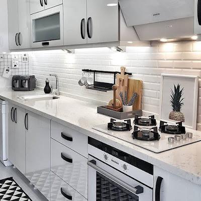 Dapur Cantik Minimalis Dengan Kitchen Set