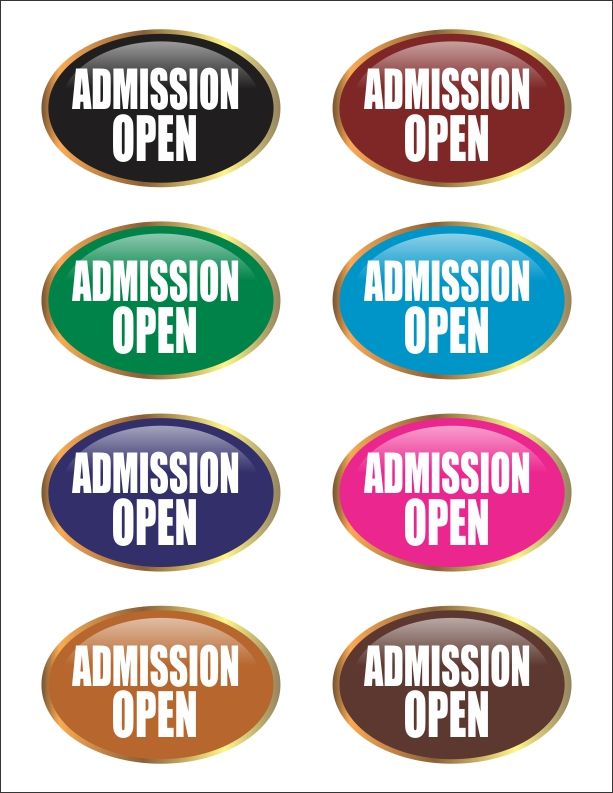 Admission Open Vector Collection Free Download CDR File 2019 - M