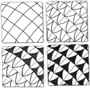 Judy's Zentangle Creations: some patterns to use