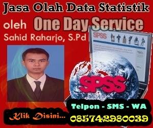 Jasa Olah Data Statistik SPSS Terpercaya