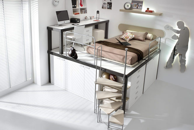 Abr Home Amazing Creative Design Bunk Beds For Teenagers