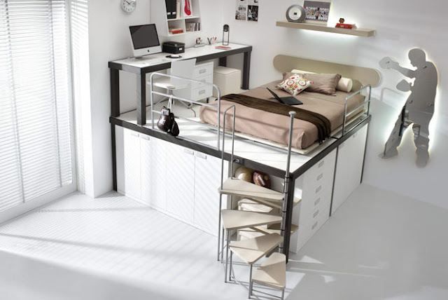 Creative A Nd Modern Design Bunk Beds For Teenagers