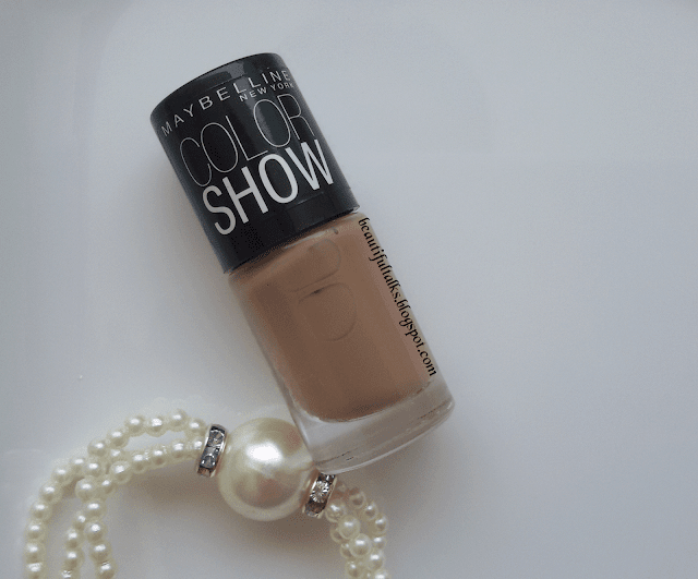 Maybelline Color Show | Nude Skin | Nail Polish